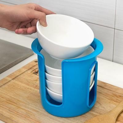 【八八八】e網購~【廚房碗碟收納架LA118】NO135碗盤收納盒整理架儲物架碗架瀝碗架