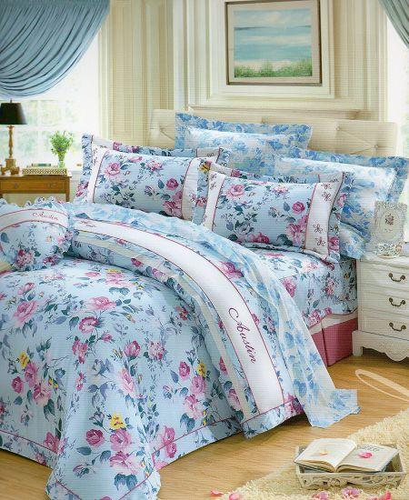 [床工坊]百貨專櫃-[英國授權寢具]-60支美國棉認證/高質感床罩組-雙人加大六尺零碼(孝親推薦組) 5