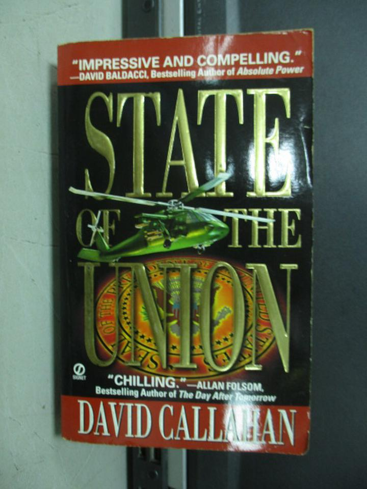 【書寶二手書T9/原文小說_NFM】State of the union_dacid callahan