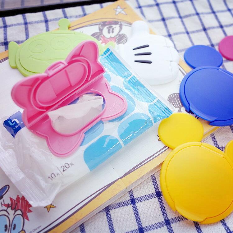 PGS7 日本迪士尼系列商品 - 日本 迪士尼 濕紙巾蓋 三眼怪 米奇 米妮 【SFZ7227】