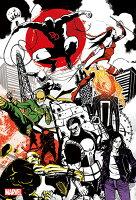 漫威英雄Marvel 周邊商品推薦Marvel KP 漫威街頭英雄(1)拼圖300片 HPM0300S-008
