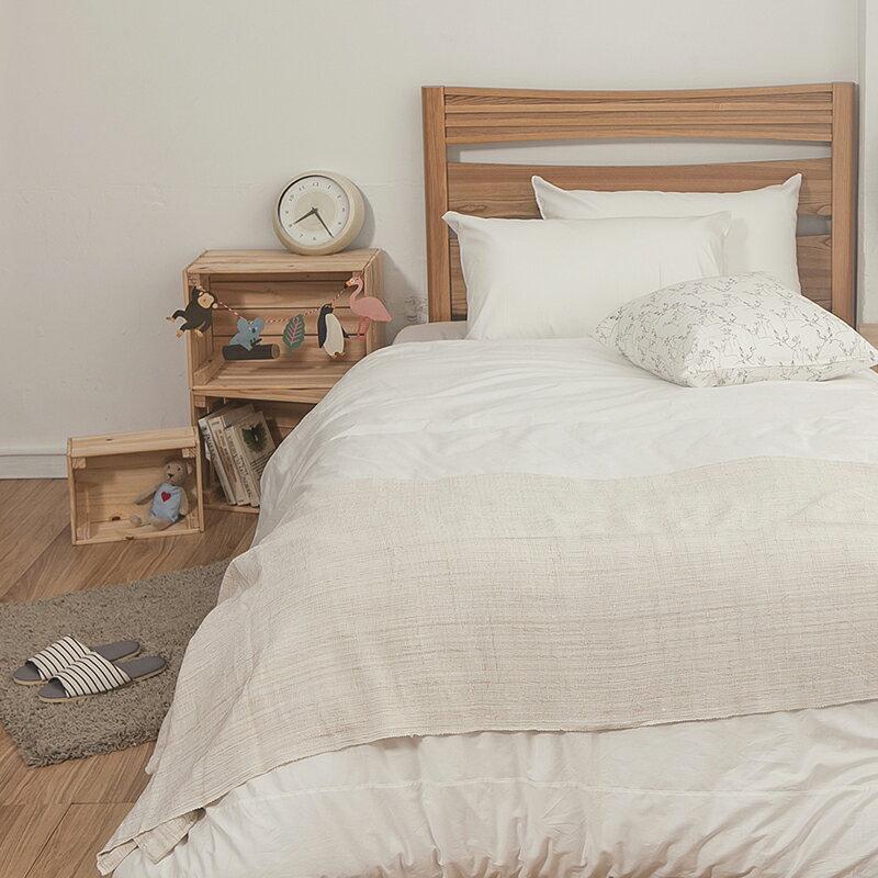 床包  雙人~100^%精梳棉~素色系列~白色~含兩件枕套,戀家小舖, 製SS01~AAA