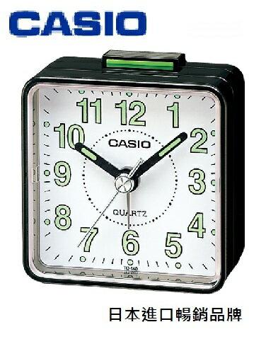 CASIO 卡西歐 TQ-140  指針型鬧鐘 / 個 (顏色隨機出貨)