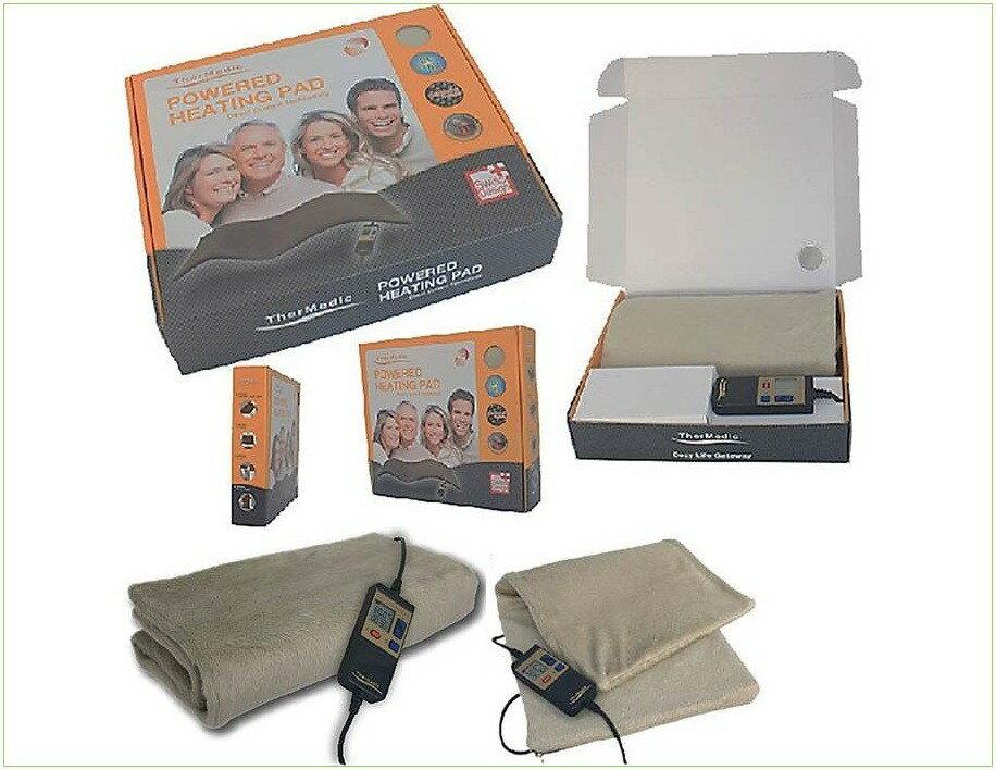 TherMedic舒美立得 DR3663 動力式熱敷墊 Heating Pad系列-軀幹適用-遠紅外線碳纖維布-貼心溫熱舒緩不適