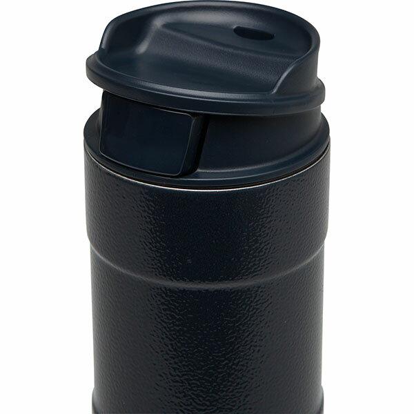 ├登山樂┤ 美國 Stanley 經典系列 單手保溫咖啡杯 0.35L-錘紋藍 # 10-01569-BL 2