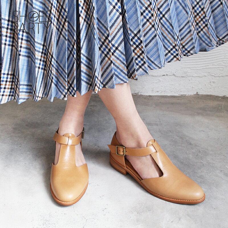 【S2-19328L】外尖內圓T字牛津鞋_Shoes Party 4