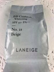 LANEIGE蘭芝】超緊顏光潤氣墊粉霜補充蕊15g