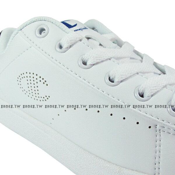 Shoestw【921210101】【921220101】Champion 休閒鞋 貝殼鞋 板鞋 皮革 白黑 男女尺寸都有 情侶款式 1