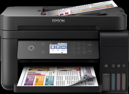 Epson WorkForce ET-3750 EcoTank All-In-One Inkjet Printer 3