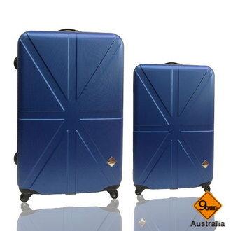 Gate9 米字英倫系列超值兩件組24吋+20吋輕硬殼旅行箱/行李箱