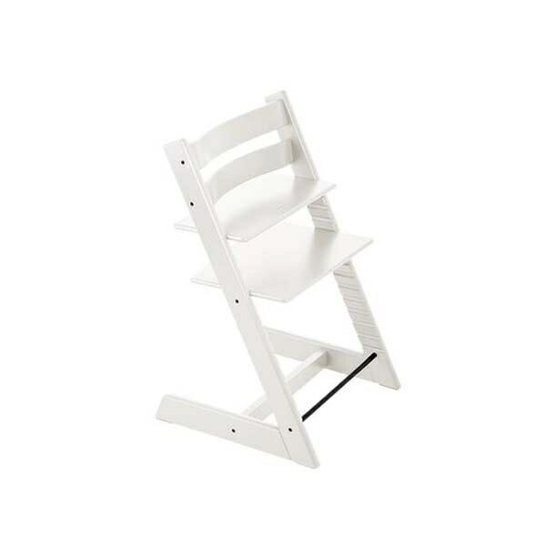 STOKKETrippTrapp®成長椅(櫸木白色)餐椅