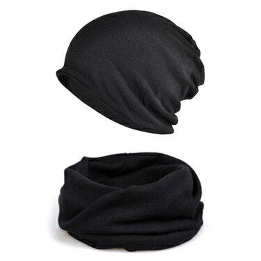 頭巾帽帽子男冬韓版潮牌冬天防寒保暖堆堆套頭帽男士睡帽冬季頭巾包頭帽 嬡孕哺