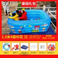 充氣游泳池 兒童游泳池家用成人超大號充氣加厚家庭泳池寶寶兒童小孩大型水池