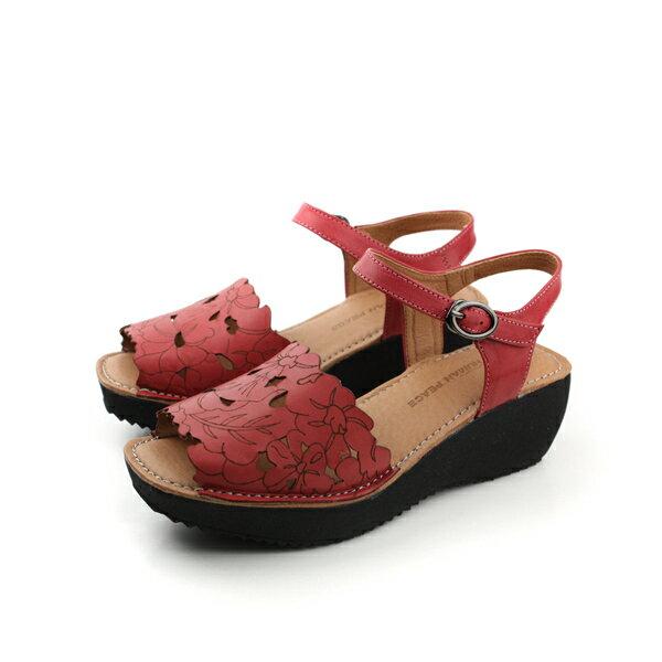 HUMAN PEACE 涼鞋 紅 女款 no117