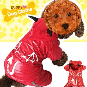 小惡魔雨衣變裝寵物裝E118~A117 寵物衣服寵物服裝寵物服飾店.毛小孩小狗衣服小貓衣服