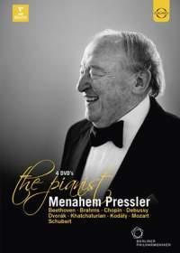 EuroArts 普萊斯勒2011、2013、2014音樂會與紀錄片珍藏盒(Menahem Pressler Box: Paris Recital, Orchestre de Paris / Paavo Järvi, Gala & Documentary)【4DVDs】