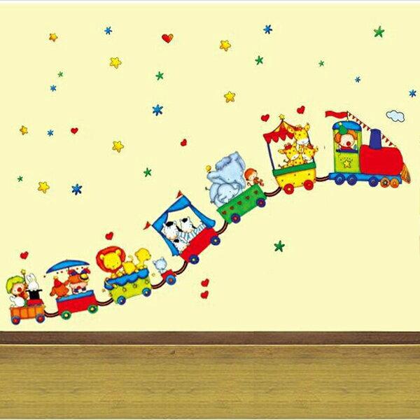 Loxin 居家收納精品:Loxin創意可移動壁貼卡通玩具車【BF0391】DIY組合壁貼壁紙牆貼背景貼裝飾佈置室內設計裝潢客廳臥室浴室