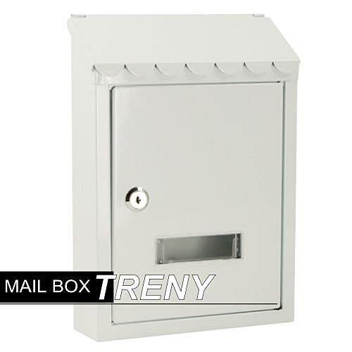 Loxin 自然風情-鄉村白信箱【SL1030】郵件信箱 信件箱 郵筒 意見箱 書報箱 鑄鐵信箱