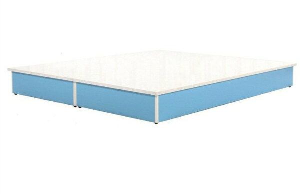 【石川家居】847-0120(5尺藍白色)床底(CT-210)#訂製預購款式#環保塑鋼P無毒防霉易清潔