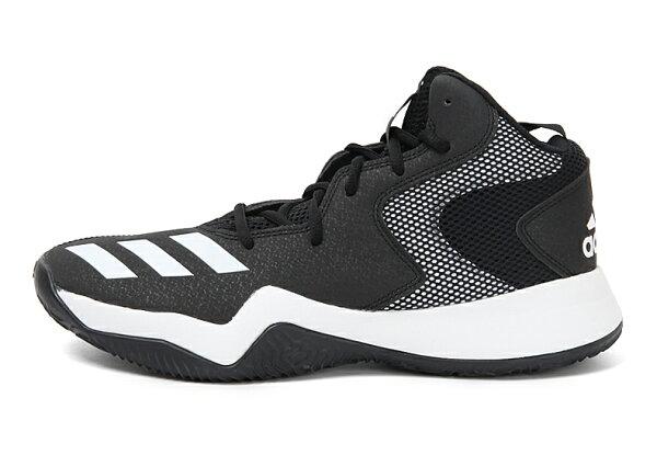 ADIDASCrazyTeamII男鞋籃球慢跑高筒基本款黑白【運動世界】CG4795