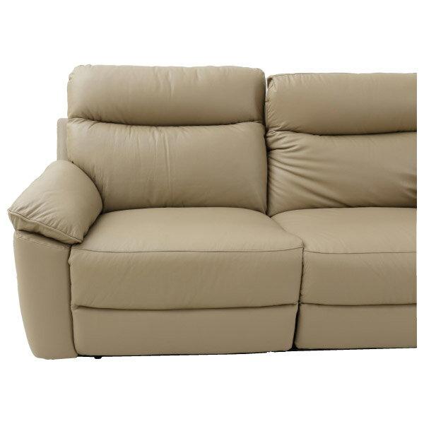 ◎(OUTLET)半皮3人用沙發 JADE MO 福利品 NITORI宜得利家居 3