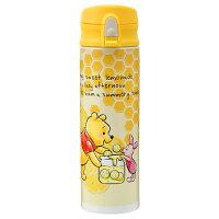 小熊維尼周邊商品推薦日本直送 Disney Store 小熊維尼 Winnie the Pooh 不鏽鋼真空二重構造 保溫保冷水壺 500ml