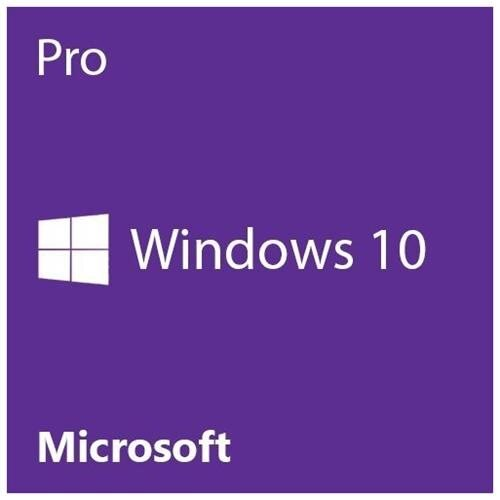 Microsoft Windows 10 Pro 64-bit - License - 1 License - OEM - PC - DVD-ROM - English