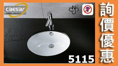 【東益氏】CAESAR凱撒L5115/B210C正字標記抗污加深檯面盆台面盆洗臉盆售電光牌詢價優惠