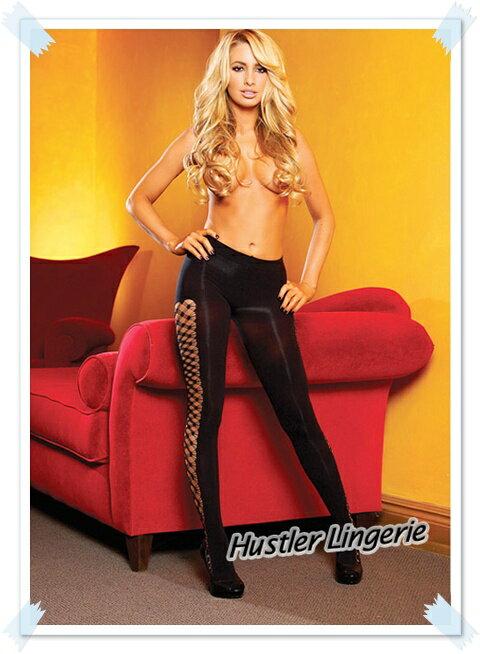 【星鑽情趣精品】美國 Hustler Lingerie - 美式熱情! 一體成型提臀編織網襪(M-HH15)