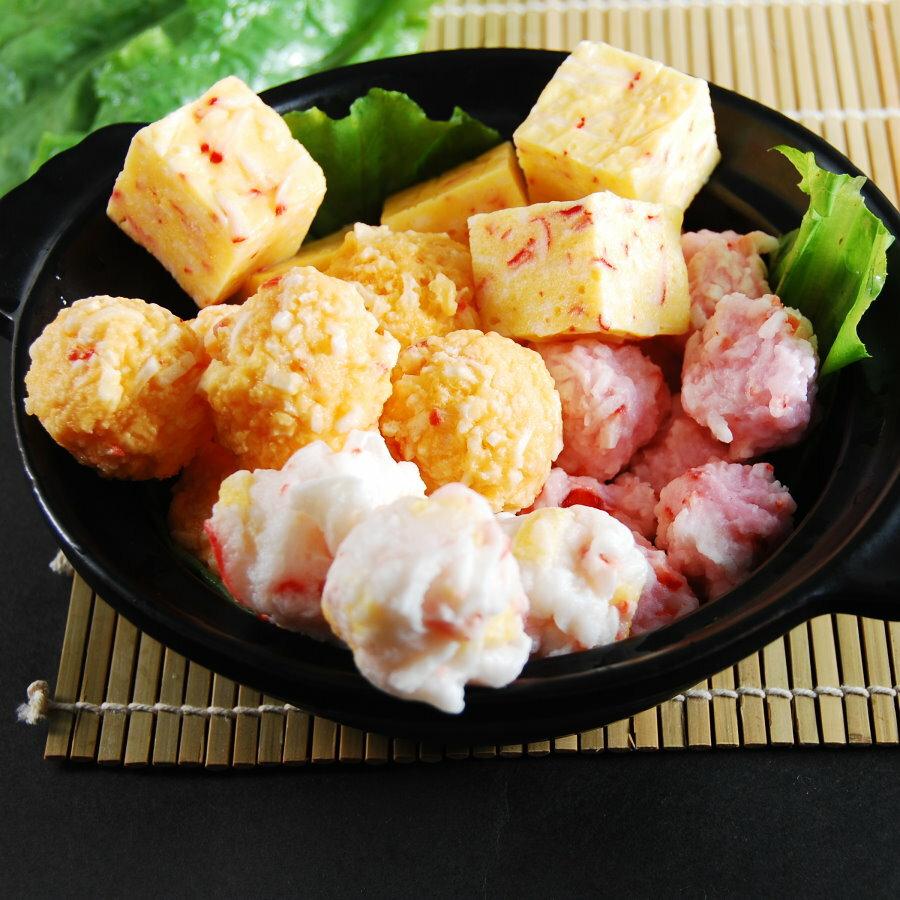 綜合包系列三【鮮之林嚴選日式鍋物】【500g】日式鍋物 火鍋料