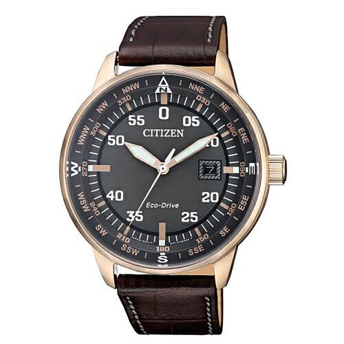 CITIZEN星辰簡約質感光動能腕錶BM7393-16H