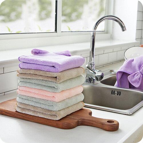 可愛韓國超強吸水蝴蝶結加厚擦手巾掛式擦手毛巾