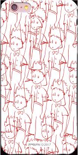 YOSHI850:小王子經典版授權【3D滿版硬殼-傻傻的小王子(霧面)】《AppleASUSHTCOPPOSamsungSony小米》