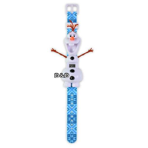 《 DISNEY 》冰雪奇緣雪寶造型手錶