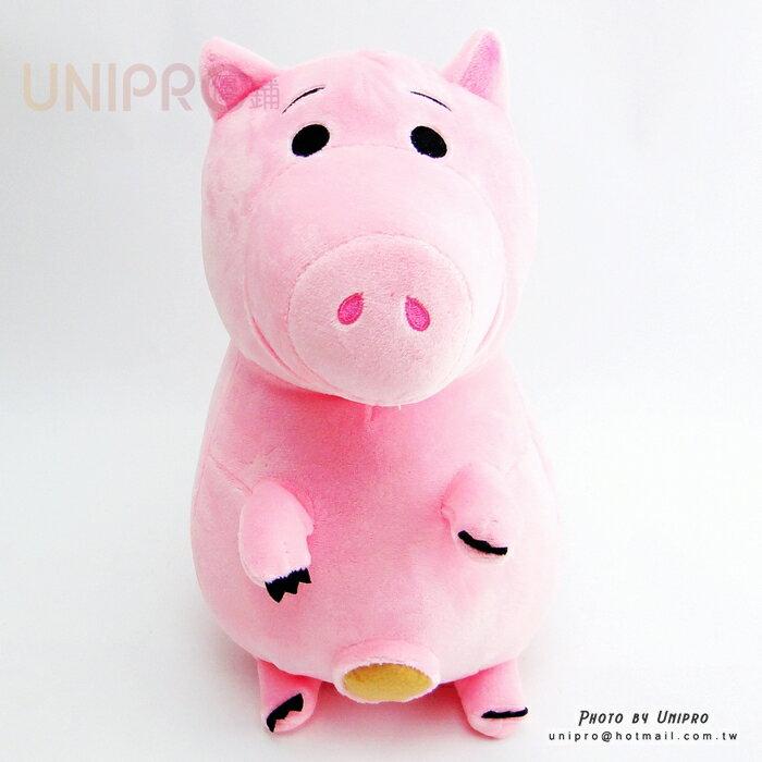 【UNIPRO】迪士尼 火腿 Ham 25公分 豬 絨毛玩偶 娃娃 玩具總動員