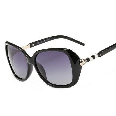 墨鏡骷髏金屬拼接造型時尚大框太陽眼鏡【KS9541】BOBI0315