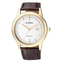父親節禮物推薦CITIZEN 簡約時刻光動能錶款/AW1233-01A
