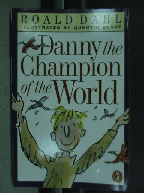 【書寶二手書T4/語言學習_JCD】Danny the champion of the world_1975
