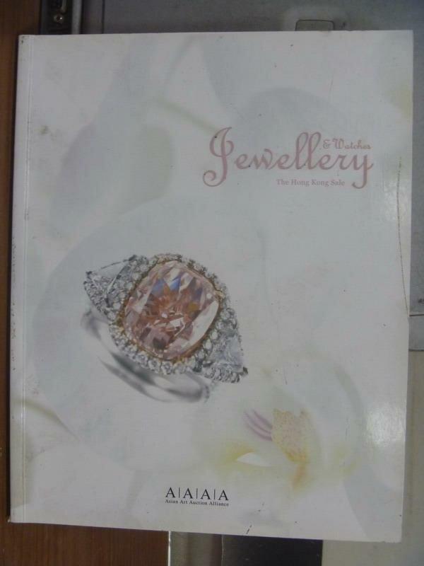 【書寶二手書T4/收藏_QLV】Jewellery watches the hong..._2010/11/28