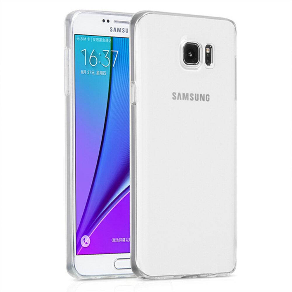 Samsung Galaxy Note 5 高質感雙料材質 透明TPU+PC手機殼/保護套 1