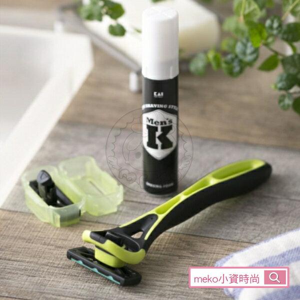 meko美妝生活百貨:【日本貝印】Xfit5刀刃刮鬍刀旅行組
