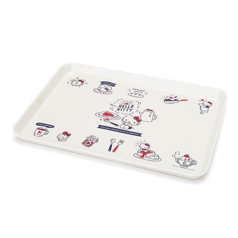 X射線【C807897】Hello Kitty 托盤-早餐,小物收納架 / 飾品盤 / 點心盤 / 零錢盤 / 水果盤 / 茶盤 1