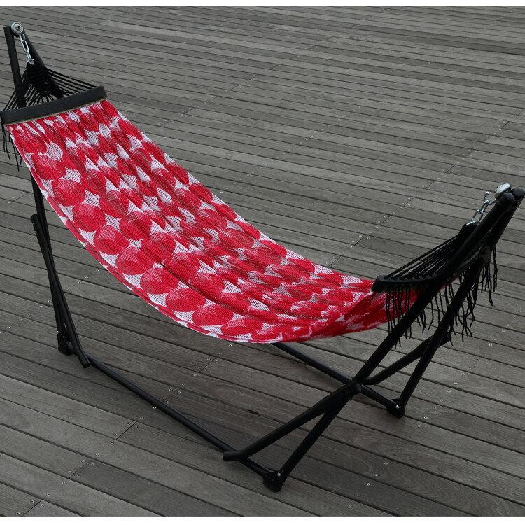 ToymockxDanke 折疊收納式吊床-正常版-DWZ-Dot Magenta