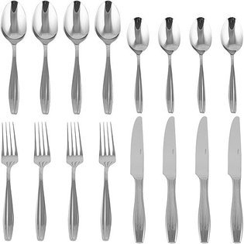 《CreativeTops》Mikasa波紋鏡亮餐具16件