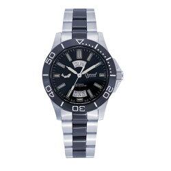 愛其華 Ogival (827-1ATMSB)夜鷹飛梭系列氚氣燈管時尚機械腕錶/40mm