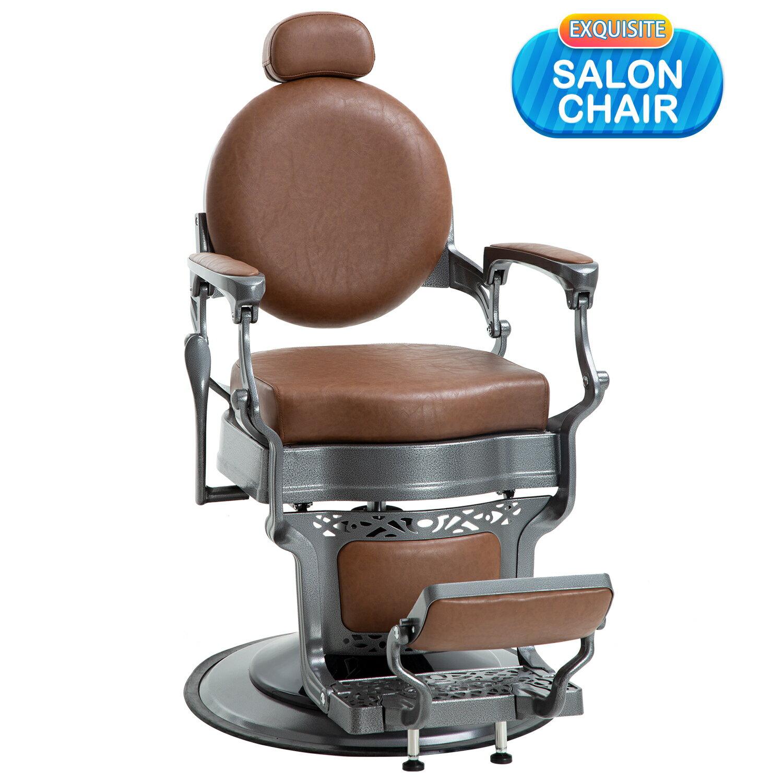 Pleasing Salon Chair Hair Barber Chair Reclining Adjustable Hydraulic Chair Hair Cutting Chair Heavy Duty Hydraulic Pump Beauty Shampoo Barbering Stylist Chair Short Links Chair Design For Home Short Linksinfo