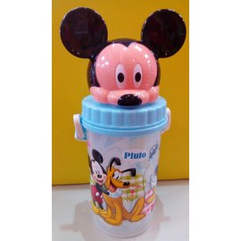 【淘氣寶寶】迪士尼 500造型水壺/水杯 米奇【保證原廠公司貨】