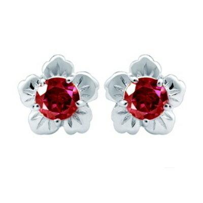 ~925純銀耳環鑲鑽耳飾~高貴典雅花朵 生日情人節 女飾品73dz22~ ~~米蘭 ~