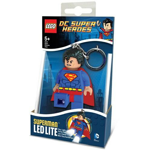 【 LEGO 樂高積木 】LED 燈鑰匙圈 - 超人