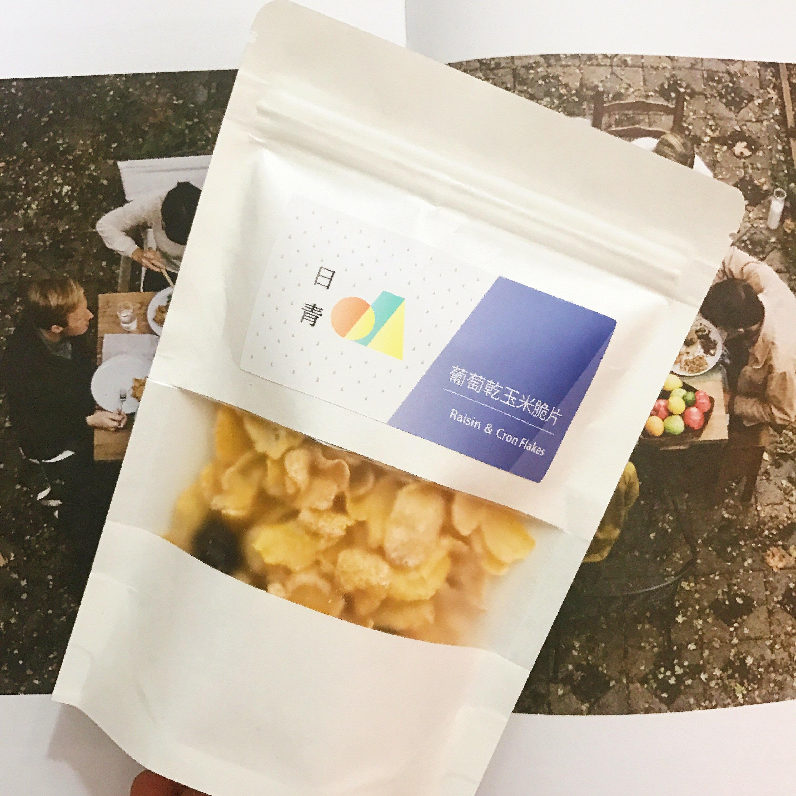 【日青優格】葡萄乾玉米脆片